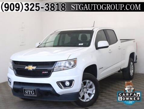 2016 Chevrolet Colorado for sale at STG Auto Group in Montclair CA