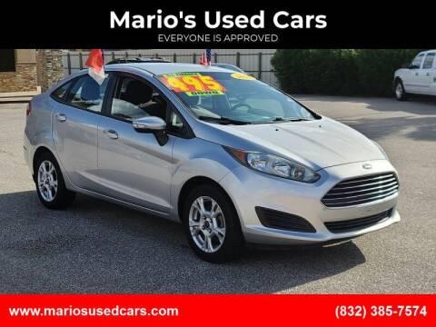2014 Ford Fiesta for sale at Mario's Used Cars - Pasadena Location in Pasadena TX