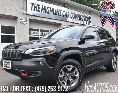 2019 Jeep Cherokee for sale at The Highline Car Connection in Waterbury CT
