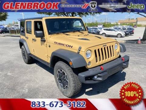 2014 Jeep Wrangler Unlimited for sale at Glenbrook Dodge Chrysler Jeep Ram and Fiat in Fort Wayne IN