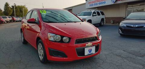2013 Chevrolet Sonic for sale at I-80 Auto Sales in Hazel Crest IL