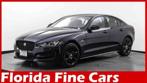 2018 Jaguar XE for sale at Florida Fine Cars - West Palm Beach in West Palm Beach FL
