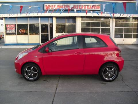 2008 Toyota Yaris for sale at Wilson Motors in Junction City KS
