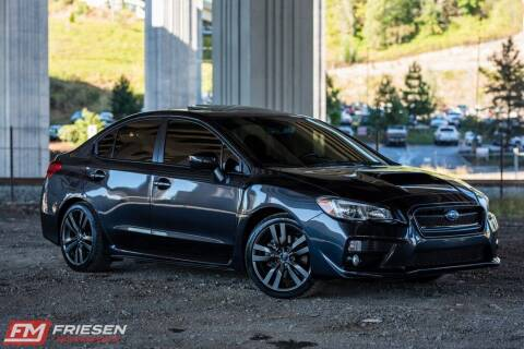 2017 Subaru WRX for sale at Friesen Motorsports in Tacoma WA