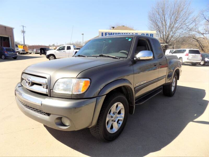2003 Toyota Tundra for sale at Lewisville Car in Lewisville TX