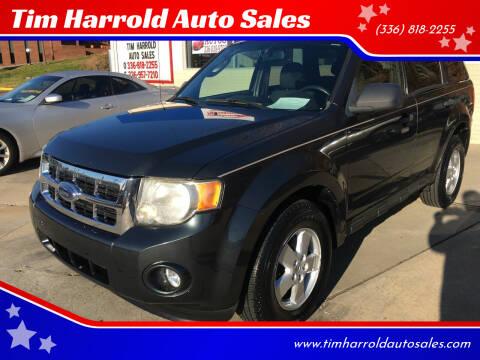 2009 Ford Escape for sale at Tim Harrold Auto Sales in Wilkesboro NC