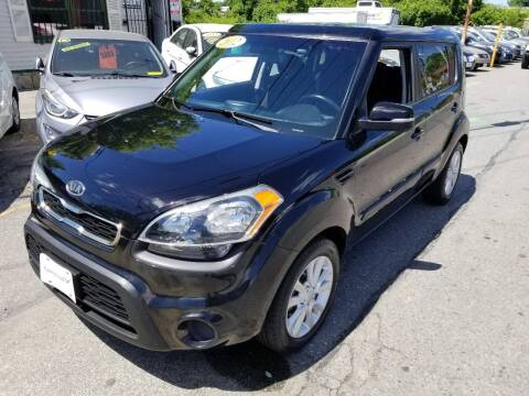 2012 Kia Soul for sale at Howe's Auto Sales in Lowell MA