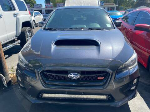 2015 Subaru WRX for sale at San Jose Auto Outlet in San Jose CA