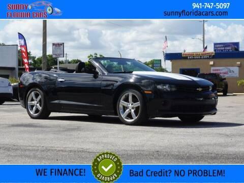 2014 Chevrolet Camaro for sale at Sunny Florida Cars in Bradenton FL