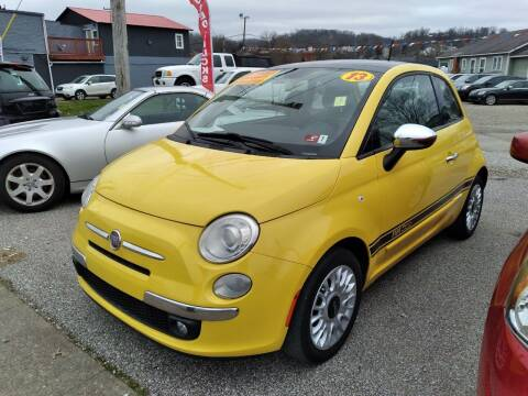 2013 FIAT 500 for sale at Sissonville Used Cars in Charleston WV