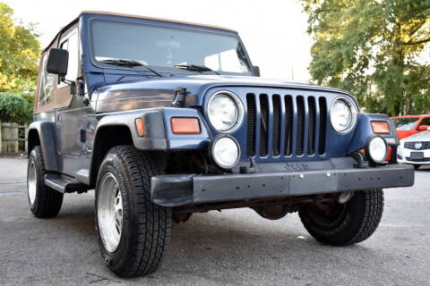 1997 Jeep Wrangler for sale at Wheel Deal Auto Sales LLC in Norfolk VA