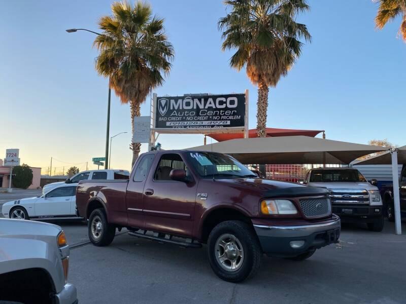 1999 Ford F-150 for sale at Monaco Auto Center LLC in El Paso TX