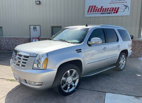2013 Cadillac Escalade for sale at Midway Motors in Conway AR