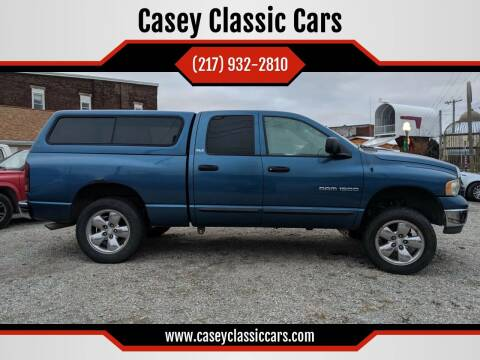 2002 Dodge Ram Pickup 1500 for sale at Casey Classic Cars in Casey IL