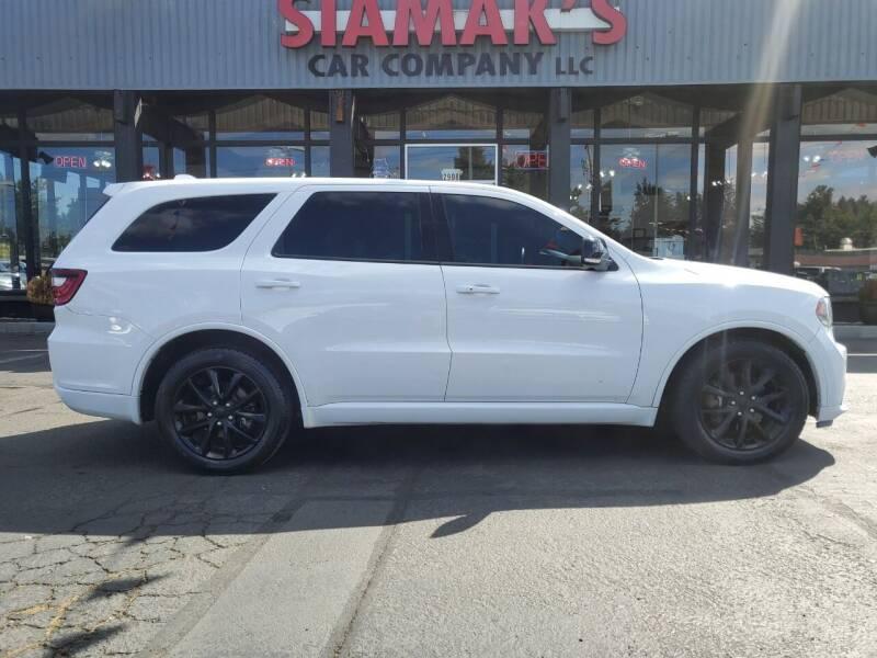 2017 Dodge Durango for sale at Siamak's Car Company llc in Salem OR