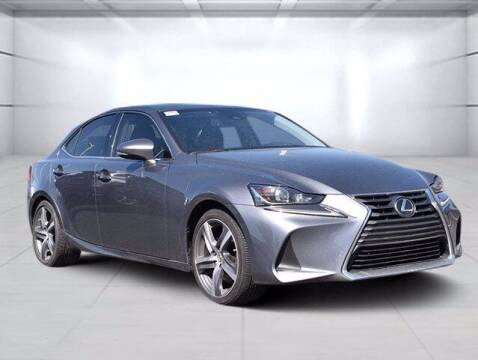 2018 Lexus IS 300 for sale at BOB ROHRMAN FORT WAYNE TOYOTA in Fort Wayne IN