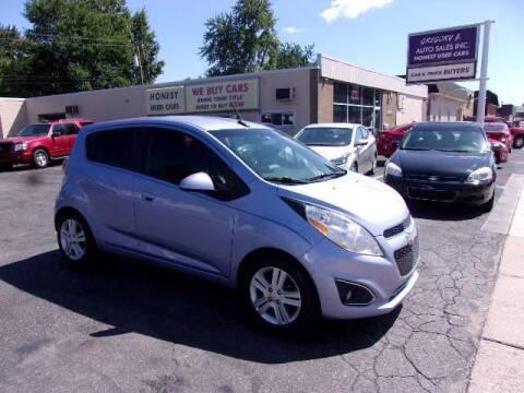 2014 Chevrolet Spark for sale at Gregory J Auto Sales in Roseville MI