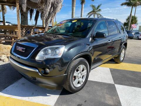 2010 GMC Acadia for sale at D&S Auto Sales, Inc in Melbourne FL