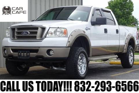 2006 Ford F-150 for sale at CAR CAFE LLC in Houston TX