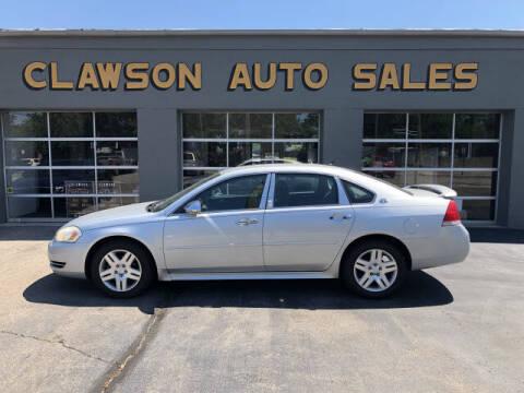 2009 Chevrolet Impala for sale at Clawson Auto Sales in Clawson MI