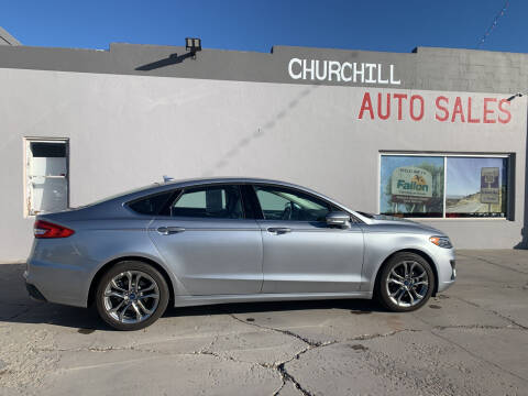 2020 Ford Fusion for sale at CHURCHILL AUTO SALES in Fallon NV