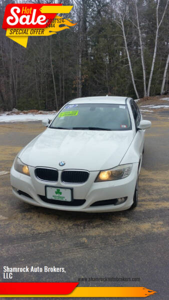 2010 BMW 3 Series for sale at Shamrock Auto Brokers, LLC in Belmont NH