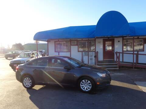 2011 Chevrolet Cruze for sale at Jim's Cars by Priced-Rite Auto Sales in Missoula MT