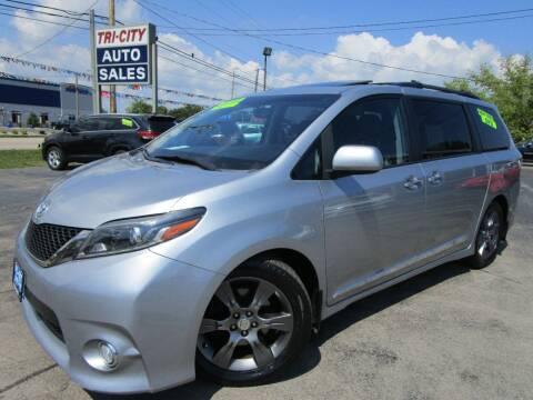 2016 Toyota Sienna for sale at TRI CITY AUTO SALES LLC in Menasha WI