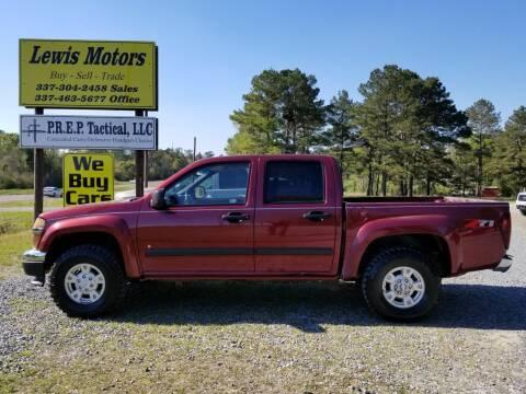 2008 Chevrolet Colorado for sale at Lewis Motors LLC in Deridder LA