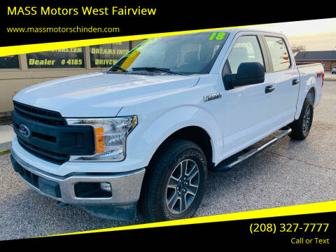 2018 Ford F-150 for sale at MASS Motors West Fairview in Boise ID