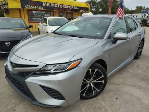 2019 Toyota Camry for sale at MK Motorsports LLC. in Orlando FL
