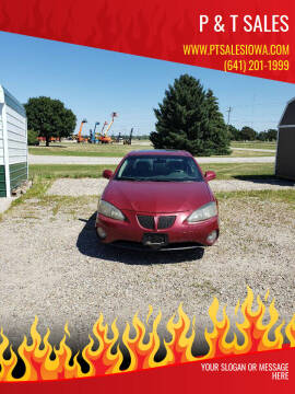 2004 Pontiac Grand Prix for sale at P & T SALES in Clear Lake IA