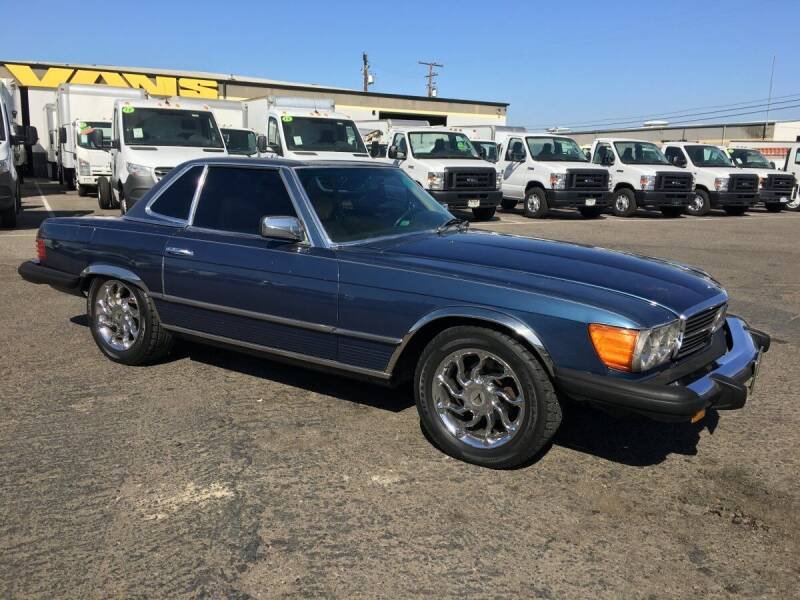 1980 Mercedes-Benz 450 SL for sale in Fountain Valley, CA