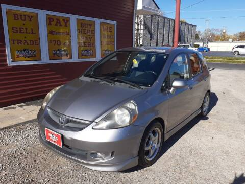 2007 Honda Fit for sale at Mack's Autoworld in Toledo OH