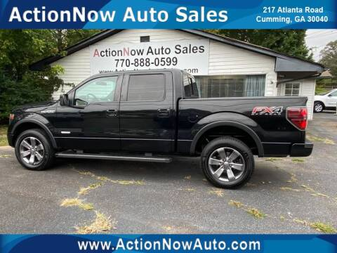 2013 Ford F-150 for sale at ACTION NOW AUTO SALES in Cumming GA