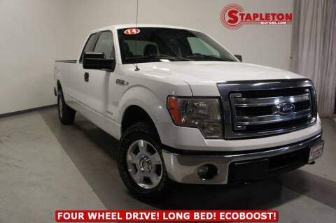 2014 Ford F-150 for sale at STAPLETON MOTORS in Commerce City CO