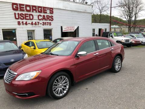 2011 Chrysler 200 for sale at George's Used Cars Inc in Orbisonia PA