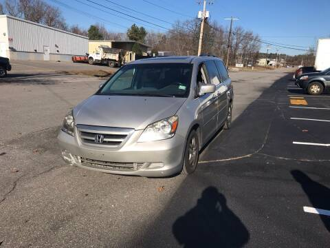 2007 Honda Odyssey for sale at AMK Auto Brokers in Derry NH