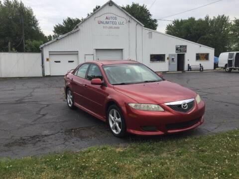 2004 Mazda MAZDA6 for sale at Autos Unlimited, LLC in Adrian MI