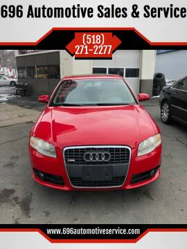 2008 Audi A4 for sale at 696 Automotive Sales & Service in Troy NY