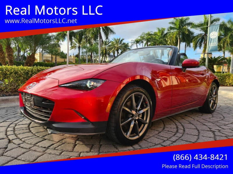 2016 Mazda MX-5 Miata for sale at Real Motors LLC in Clearwater FL