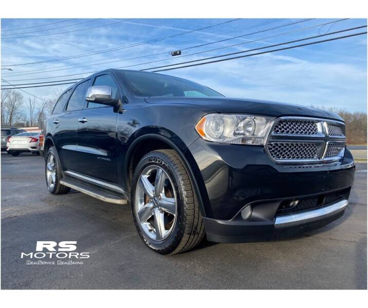 2013 Dodge Durango for sale at RS Motors in Falconer NY