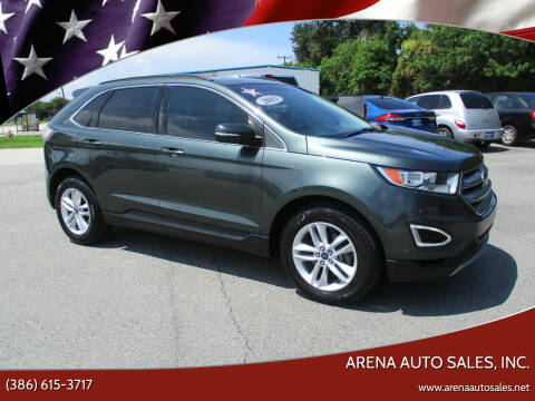 2015 Ford Edge for sale at ARENA AUTO SALES,  INC. in Holly Hill FL