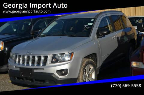 2014 Jeep Compass for sale at Georgia Import Auto in Alpharetta GA