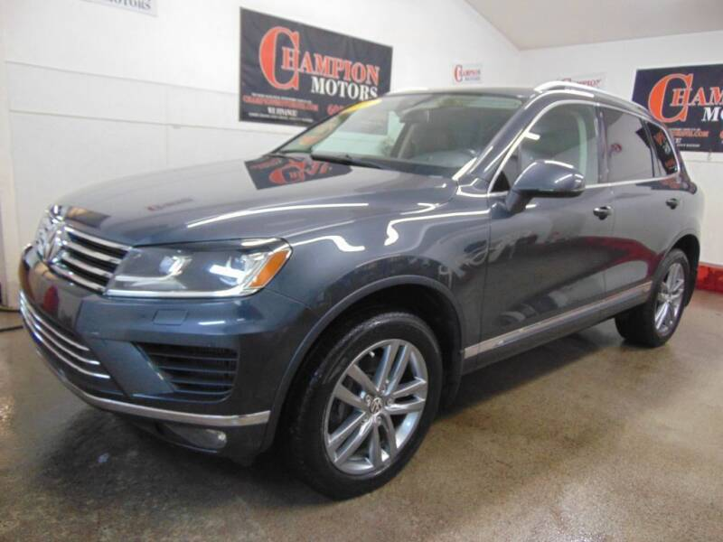 2016 Volkswagen Touareg for sale at Champion Motors in Amherst NH