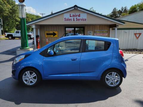 2014 Chevrolet Spark for sale at LAIRD SALES AND SERVICE in Muskegon MI