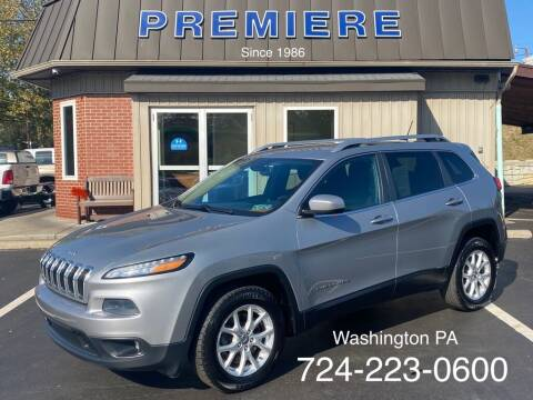 2014 Jeep Cherokee for sale at Premiere Auto Sales in Washington PA