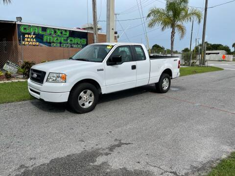 2007 Ford F-150 for sale at Galaxy Motors Inc in Melbourne FL