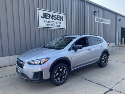 2019 Subaru Crosstrek for sale at Jensen's Dealerships in Sioux City IA