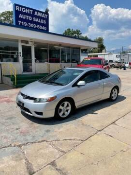 2007 Honda Civic for sale at Right Away Auto Sales in Colorado Springs CO